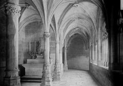 Ancienne chartreuse Saint-Sauveur - Petit cloître et chapelle