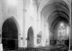 Eglise Saint-Jean-de-Malte - Nef vue de l'entrée