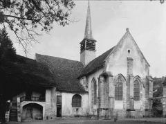 Ancienne Abbaye cistercienne de la Bussière, actuellement Centre d'accueil et de rencontre - Ensemble sud-est
