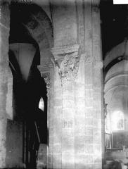 Eglise Saint-Andoche - Colonnes et chapiteaux