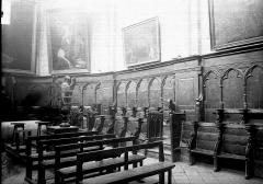 Eglise Saint-Andoche - Stalles