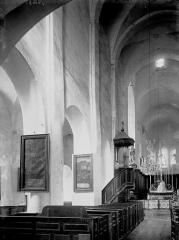 Eglise Saint-Vorles - Nef: partie nord et choeur