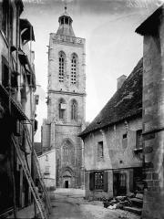 Eglise Sainte-Valérie, dite église du Moutier - Clocher