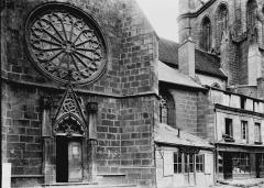 Eglise Sainte-Valérie, dite église du Moutier - Façade nord, bras nord du transept