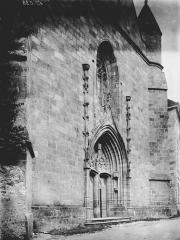 Chapelle Notre-Dame du Château - Façade ouest