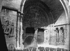 Ancienne abbaye - Portail sud