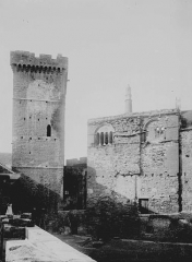 Château de Castelnau-de-Bretenoux - Donjon du 13ème siècle et ancienne salle seigneuriale du 12ème siècle