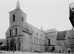 Eglise abbatiale Saint-André et Saint-Léger - Ensemble sud-ouest