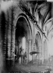 Cathédrale Saint-Martin, actuellement Notre-Dame et cloître, actuellement Musée municipal - Nef: travées