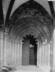 Cathédrale Saint-Martin, actuellement Notre-Dame et cloître, actuellement Musée municipal - Cloître: porte