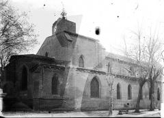 Eglise collégiale et paroissiale Saint-Jean-Baptiste - Façade nord