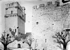 Remparts - Tour fortifiée et pan de mur d'enceinte
