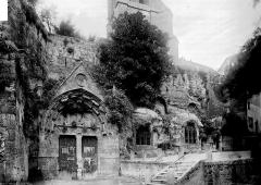 Eglise souterraine monolithe (ancienne église paroissiale Saint-Emilion) - Façade