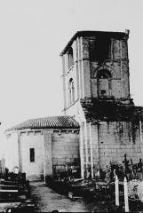 Ancienne église Saint-Martin de Mazerat - Abside et clocher
