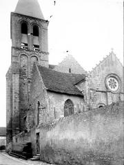 Eglise Saint-Génitour - Clocher et chevet