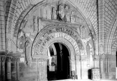 Ancienne collégiale Saint-Ours - Portail