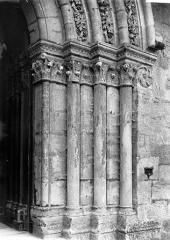 Eglise collégiale Saint-Denis - Portail de la façade nord : Ebrasement droit