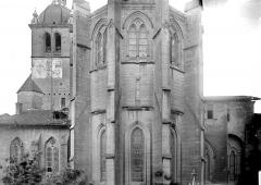 Ancienne abbaye, actuellement hôtel de ville - Abside