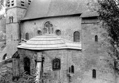 Château d'Uriage - Abside