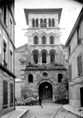 Eglise Saint-Pierre-le-Bas - Façade ouest