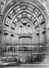 Eglise Saint-Maurice, anciennement cathédrale - Portail ouest