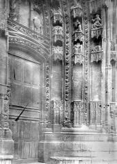 Eglise Saint-Maurice, anciennement cathédrale - Ebrasement de droite