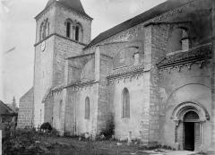 Eglise Notre-Dame des Ardents ou Saint-Christophe - Clocher et partie de la façade sud