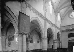 Eglise Notre-Dame des Ardents ou Saint-Christophe - Nef vue du choeur, élévation sud-ouest