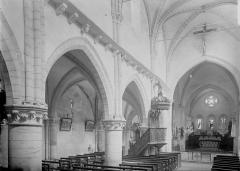 Eglise Notre-Dame des Ardents ou Saint-Christophe - Nef vue de l'entrée, élévation nord-est