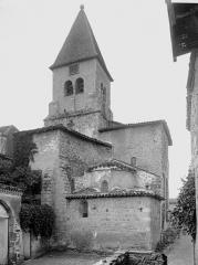 Eglise Saint-Julien - Abside et clocher