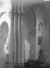 Eglise Saint-Julien - Intérieur, vue diagonale