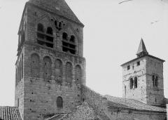 Eglise de Saint-Rambert - Clocher, côté nord