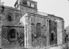 Eglise Saint-Gilles - Façade latérale