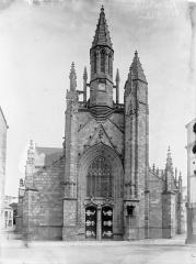 Eglise Saint-Aubin (ancienne collégiale) - Ensemble ouest