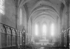 Eglise Saint-Aubin (ancienne collégiale) - Choeur