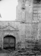 Eglise Saint-Martin et crypte - Porte