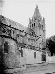 Eglise Saint-Liphard - Clocher et partie latérale