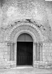 Eglise Saint-Liphard - Portail