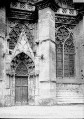 Cathédrale Sainte-Croix - Petit portail