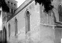 Eglise Saint-Barthélémy - Façade nord en perspective