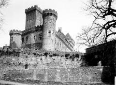 Château de Castelnau-de-Bretenoux - Vue d'ensemble