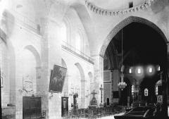 Eglise abbatiale Sainte-Marie - Choeur et nef