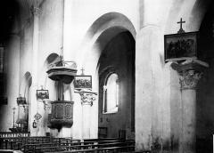 Eglise Saint-Sauveur-de-Chirac - Nef