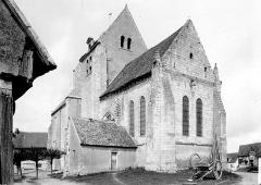 Ancienne abbaye, actuellement hôtel de ville - Ensemble nord-est