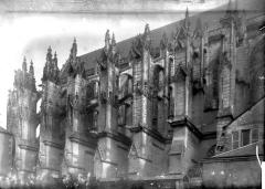 Ancien prieuré Saint-Martin d'Ambierle - Façade latérale