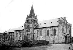 Eglise Notre-Dame de Cunault - Ensemble nord-ouest