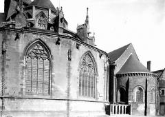 Abbaye bénédictine Notre-Dame d'Evron devenue Couvent de la Charité d'Evron - Abside