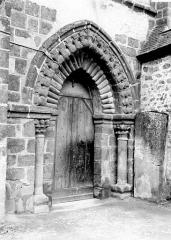 Abbaye bénédictine Notre-Dame d'Evron devenue Couvent de la Charité d'Evron - Petit portail