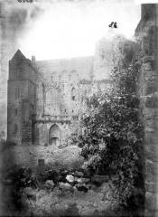 Abbaye et dépendances - Chantier côté ouest