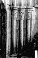 Eglise - Colonnes et chapiteaux